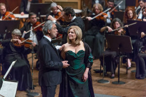 Andrea Bocelli and Renée Fleming